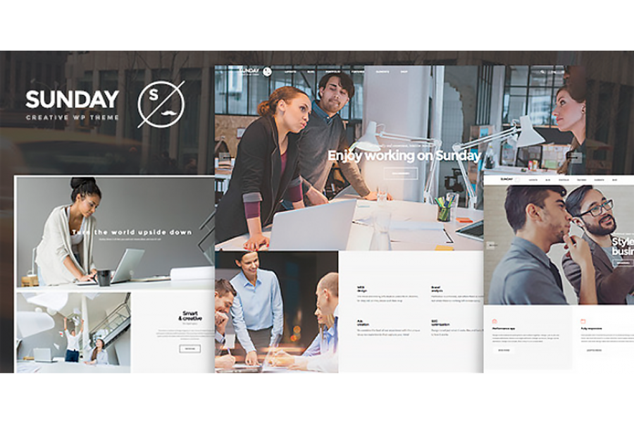 Sunday – Highly Functional Multifaceted WordPress Theme