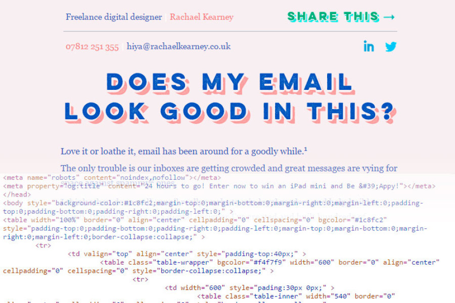 How To: Code HTML Email